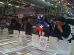 Even Captain America is looking for Back Issues
