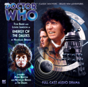 Cover to the 4th Doctor Adventures 1.04 - Enemy of the Daleks