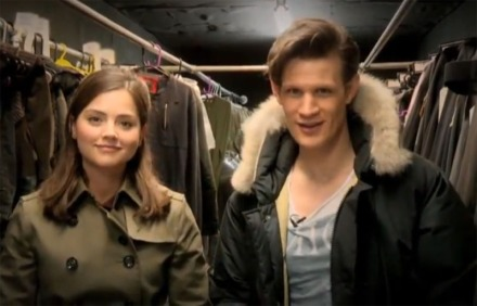 Matt Smith and Jenna Louise Coleman introduce the Christmas Minisode
